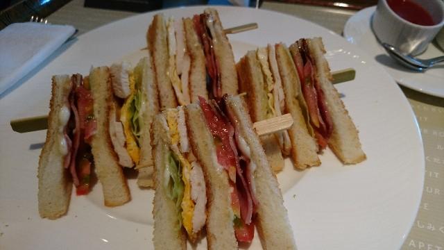 ヒルトン東京クラブハウスサンドイッチ